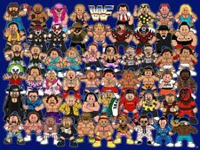 80's Vintage Eighties Cartoon Poster WWF CARTOONS Poster  24 inch X 34 inch  01