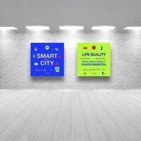 2 tableaux SMART CITY LIFE QUALITY DIGITAL ENERGY MOBILITY ENVIRONNEMENTAL T3