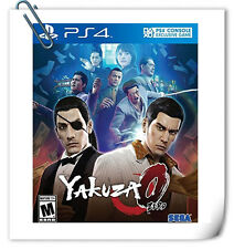 PS4 YAKUZA 0 ENGLISH / Ryu Ga Gotoku Zero JPN SONY PLAYSTATION Action Game Sega