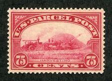 (1912-13) #Q11 75¢ Parcel Post unused XF/SUPERB