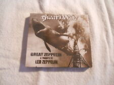 "Great White ""Great Zeppelin"" 1998 cd Axe Killer Records New Sealed"