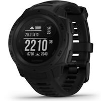 Garmin Instinct Tactical Edition - Black Rugged GPS Watch With HRM 010-02064-70