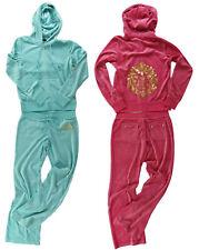 Juicy Couture Tracksuit Set Hoodie & Jogging Bottoms Ornate Juicy Velour