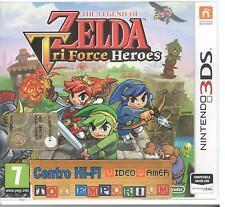 NINTENDO 3DS THE LEGEND OF ZELDS TRI FORCES HEROES USATO GARANTITO