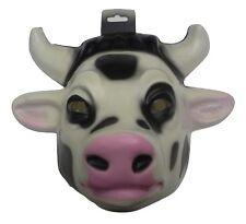 Child Cow Calf Mask Plastic Farm Animal Halloween Costume Accessory