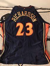 df3e0af40 Jason Richardson Golden State Warriors Authentic Reebok Jersey Sz 60  Throwback