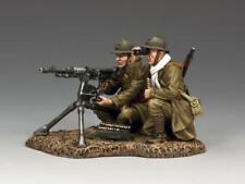KING AND COUNTRY Hotchkiss Machine Gun Crew Set WW2 French FOB117