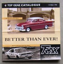 TRAX CATALOGUE 1998 Brochure DieCast 1/43 EK HOLDEN COMMODORE VL BATHURST MONARO