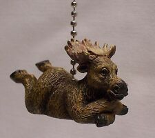 Moose Fan Pull/Light Pull Rustic Home/Cabin Decor (NAY)
