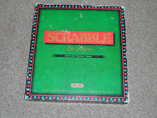 SCRABBLE DELUXE GAME : ELECTRONIC TIMER EDITION - BY SPEARS IN VGC (FREE UK P&P)