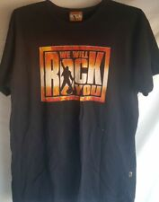 We Will Rock You Dominion Theatre London Black Shirt Top Adult Medium Nice Used