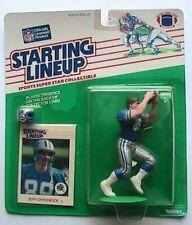 1988 ROOKIE STARTING LINEUP - SLU - NFL - JEFF CHADWICK - DETROIT LIONS
