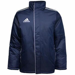 Adidas Performance Core 11 Stadium Boys Navy Full Zip Jackets V39434 CC37