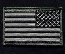 Usa American Reverse Flag Tactical Army Morale Military Badge Swat Hook Patch