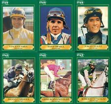 1991 JOCKEY STAR TRADING CARDS COMPLETE MINT SET 1-220 / HORSE