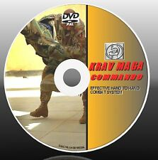 LEARN KRAV MAGA DVD TRAINING A SIMPLE VIDEO COMBAT/DEFENCE SKILLS LESSONS NEW