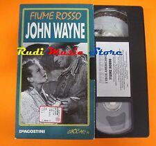 film VHS FIUME ROSSO   John Wayne   1998  (F65)  no dvd*