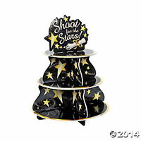 "GRADUATION PARTY Cupcake Holder ""SHOOT FOR THE STARS"" UNIQUE PARTY CENTERPIECE"