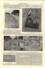1894 ELECTRICAL TRAM Washington MAGNETE scatola aperta accordo sulle curve