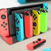 Nintendo Switch Joy-Con 4 USB LED Controller Charging Dock Stand Charger Station
