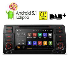 "XTRONS 7"" BMW E46 Car DVD Player Radio GPS Android 5.1 Quad Core WIFI OBD2 1080P"