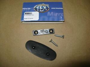 MG TEX Door MIRROR PLINTH MOUNT/FIX Kit for 74-80 MGB SPITFIRE, XJS #CZA7164