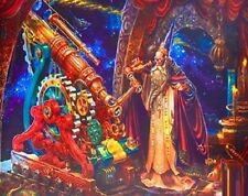 Jigsaw Puzzle Fantasy The Astronomer 750 pieces NEW iridescent foil