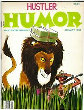 Hustler Humor Vol. 6 No. 1 January 1983 - BR