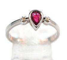Ruby White Gold Fine Jewellery