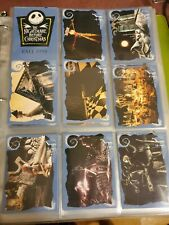 NIGHTMARE BEFORE CHRISTMAS TRADING CARDS Complete Set PLUS 3SPs and S1 chase