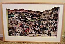 """Jazzland"",By Debra Schaffer 3D Mixed Media Photo Collage RARE"
