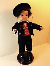 Rare Vintage Unis France Bisque Boy Doll 301-71 Fully Jointed