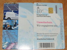 """Telefonkarte dt.Telekom 10€, gut erhalten PD """" Umweltschutz """" 073"""