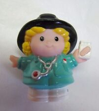 Fisher Price Little People EMT PARAMEDIC NURSE DOCTOR GIRL CHERYL Rare!