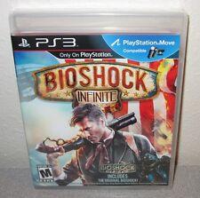 BIOSHOCK INFINITE w/Orig Bioshock SEALED NEW PlayStation 3 Day1 1stPress Shooter