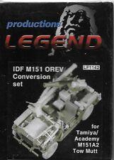 Legend IDF M151 OREV Conversion Set for Tamiya Academy Kits Tow Mutt LF1142