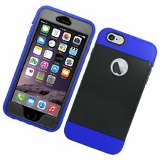Eagle Cell Hybrid TPU Hard Case for Apple iPhone 6 Plus Blue/Black