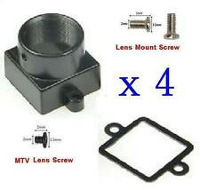 Sunvision 4x Metal MTV / M12 Mount Lens Holder Kits for CCTV Board Camera (MM)