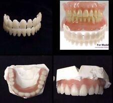 At Home DIY False Teeth Kit Upper Lower Denture Teeth A2 Non Prescription