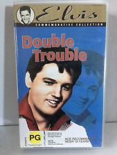 ELVIS ~ DOUBLE TROUBLE ~ RARE VHS VIDEO
