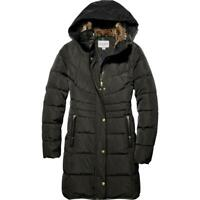 Cole Haan Womens Winter Hooded Faux Fur Trim Puffer Coat Outerwear BHFO 4011