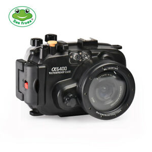 Seafrogs Underwater Waterproof Housing Case for Sony A6400 Camera 16-50mm Lens