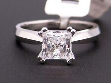 Scott Kay Platinum Princess Diamond Engagement Promise Ring M0655 Semi Mounting