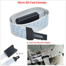 48CM SD to Micro SD Card Adapter Extension Cable Extender SDHC For Car GPS TV