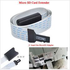 48cm SD per Micro SD Card Adattatore Prolunga per Cavo Extender SDHC per TV GPS per auto