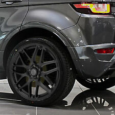 "SATIN BLACK 4 New Alloy Wheels Tyres 20"" Range Rover Evoque 5x108 Discovery"