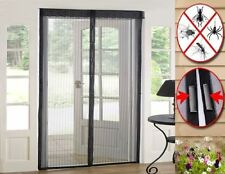 2 x Magic Curtain  Door Mesh Magnetic Fastening Hands Free Fly Bug Insect Screen