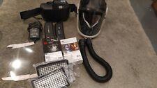 3 m Adflo respirateur PAPR, deux batteries, 3 m versaflo M-306 bandeau + Extras
