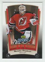 (70467) 2005-06 UPPER DECK MVP RISING TO THE OCCASION MARTIN BRODEUR #RO5
