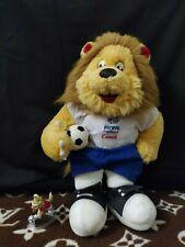 Plush mascot of the football Euro-1996, Goaliath the lion